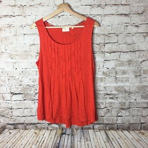 Anthropologie Deletta red top, large